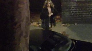 Big Tits Party Chick Gets Changed In Her Car