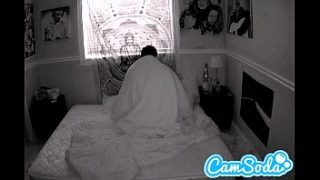 camgirl gets filmed fucking her boyfriend with night vision cam
