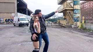 CHICAS LOCA – Crazy public sex with tattooed Spanish teen Mey Madness