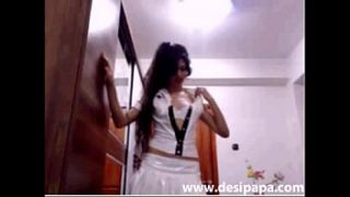 com sexy indian babe in nurse outfits on live sex chat webcam show