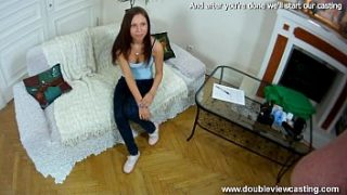 DOUBLEVIEWCASTING.COM – CLEOPATRA GETS WET REALLY FAST (POV VIEW)