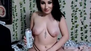 Emo Teen LolaCash Has INTENSE ORGASM While Drinking White Claw & Fingering Herself Whilst Giggling & Talking s. On Broke Ass n.