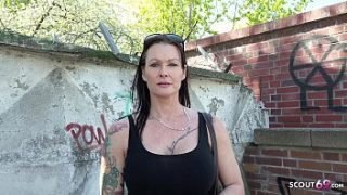 GERMAN SCOUT – MEGA TITS MILF JULIA ANAL FUCKED AT THE STREET CASTING FOR MONEY IN BERLIN