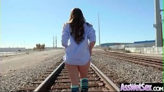 (Remy LaCroix) Superb Girl With Big Ass Enjoy Hard Anal Sex clip-27